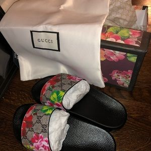 Gucci slides!